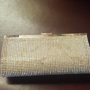 Chrystalized evening clutch